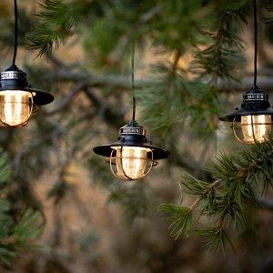 Barebones Edison Pendant string lights